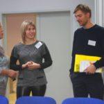 Общение перед началом конференции